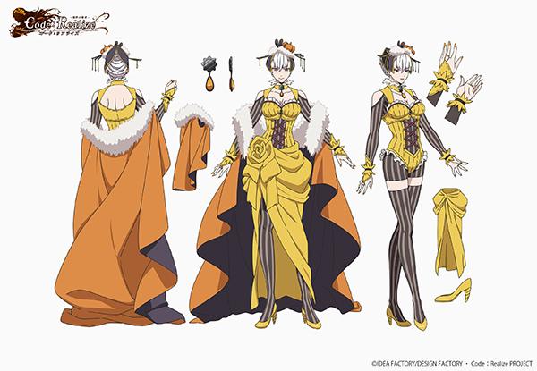 『Code:Realize ~創世の姫君~』エルロック・ショルメ(CV:村上和也)、ドラクロワ二世(CV:石上美帆)など追加キャラ設定が公開!