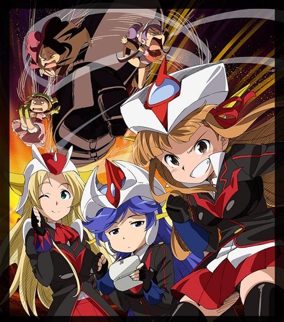 「ロボットガールズZ フルコンプBlu-ray」に収録の新作ぷちキャラアニメに『グロイザーX』などから新キャラが登場!