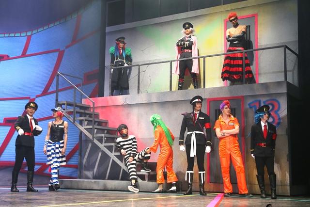 舞台『超!脱獄歌劇「ナンバカ」』がついに開幕! 赤澤燈さんらキャスト陣のコメントとゲネプロ写真も大公開