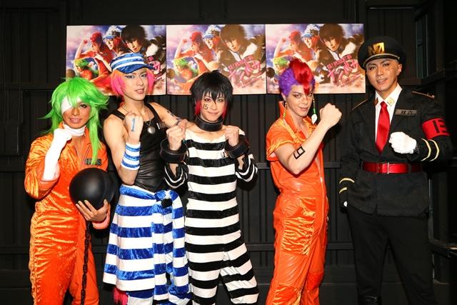 舞台『超!脱獄歌劇「ナンバカ」』がついに開幕! 赤澤燈さんらキャスト陣のコメントとゲネプロ写真も大公開の画像-1