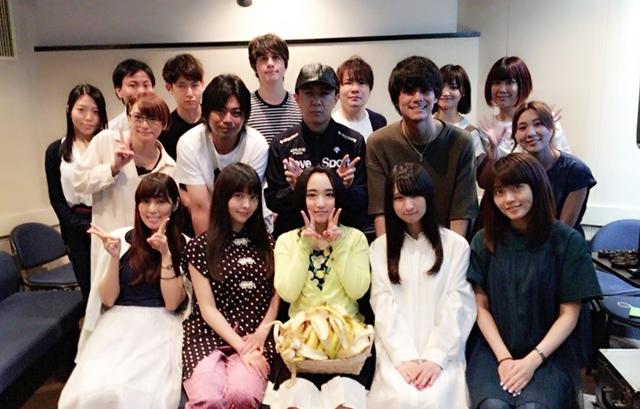 『アホガール』最終話より、悠木碧さん・杉田智和さん・浪川大輔さんら声優陣の公式コメント到着! 集合写真も大公開