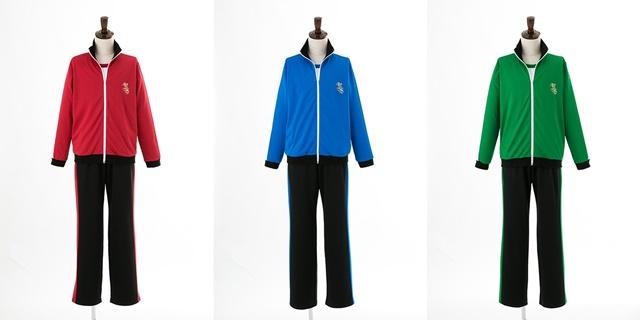 『あんさんぶるスターズ!』より私立夢ノ咲学院体操服が2017年11月16日発売決定! 1年生・2年生・3年生用の全3種類