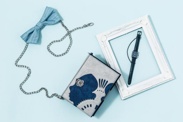 『ヴァニタスの手記』から作品の魅力を詰め込んだミニショルダーバッグとアクセサリー感覚で身につけられる腕時計が登場!