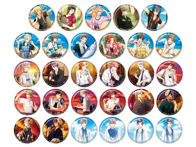 ツキノパラダイス缶バッジがキャラコミュヒロバ限定で11月11日より登場中! 『プロアニ』のキャラクターたちも大集合!