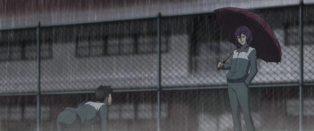 『EOL』第4話「いばらの道へ踏み込め」の先行カット公開! ルームメイトをかばうため、ヒビキは総教官に反抗する