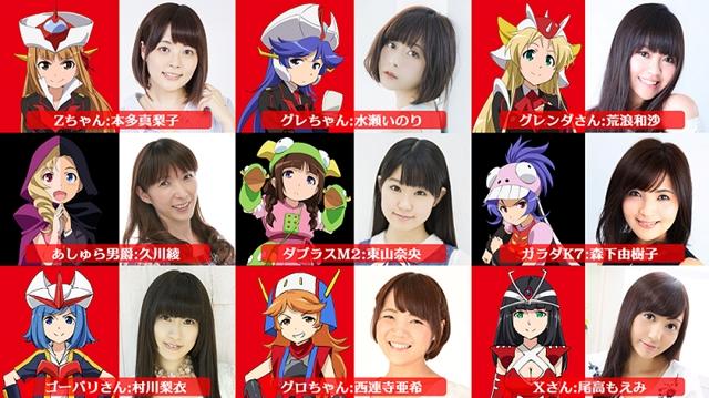『ロボガ』村川梨衣さん・本多真梨子さんら声優9名より、新作ぷちキャラアニメアフレコ後のコメント到着!