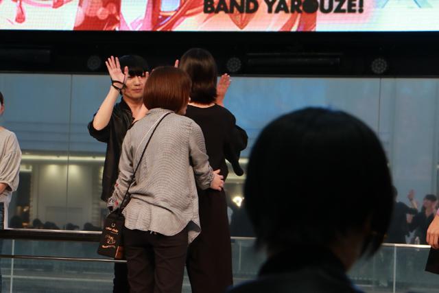 『バンやろ』制作裏話やライブ、ハイタッチ会で小林正典さんと大盛り上がり!【AGF2017】