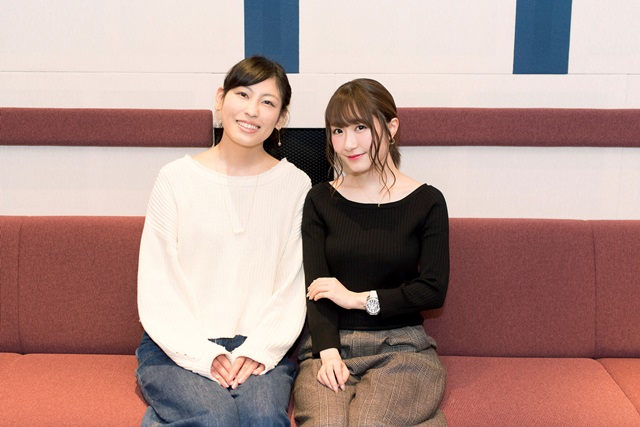 『メルヘン・メドヘン』日高里菜&大津愛理、4話収録後のインタビュー到着