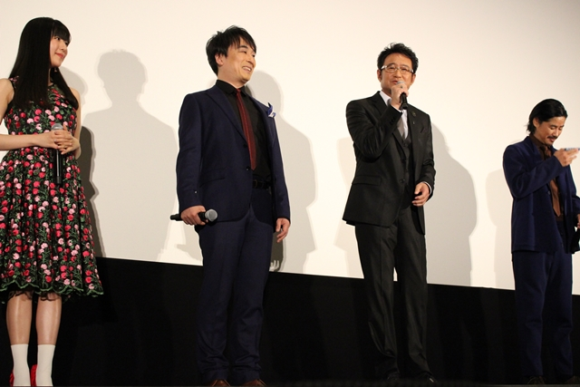 船越英一郎さん、関智一さんらが登壇した『劇場版 Infini-T Force/ガッチャマン さらば友よ』の完成披露上映会をレポート!