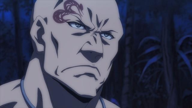 TVアニメ『キリングバイツ』第8話より、先行場面カットが到着! 今回の「獣獄刹(デストロイヤル)」は財閥間の代理戦争でもあった……。-4