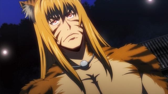 TVアニメ『キリングバイツ』第8話より、先行場面カットが到着! 今回の「獣獄刹(デストロイヤル)」は財閥間の代理戦争でもあった……。-2