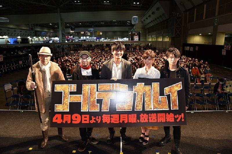 『ゴールデンカムイ』オフィシャルレポートが到着!【アニメジャパン2018】