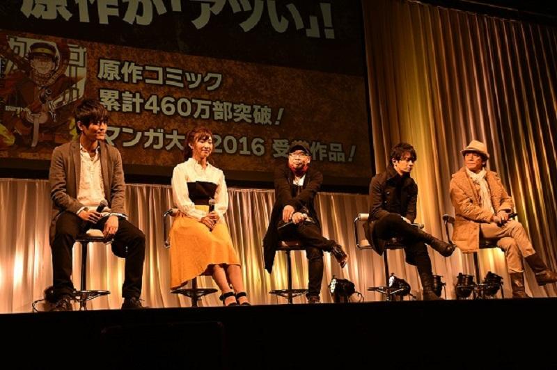 『ゴールデンカムイ』新情報発表! 追加キャストはなんと……! オフィシャルレポートが到着【アニメジャパン2018】