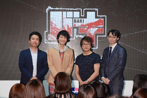 『バキ』島﨑信長登壇、AJステージの公式レポート到着!
