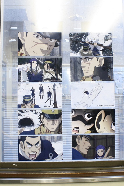 TVアニメ『ゴールデンカムイ』オンリーショップに潜入! キュートな限定イラストグッズや、作品にちなんだフロアを巡るスタンプラリーをチェック!!