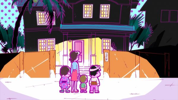 『深夜!天才バカボン』第1話あらすじ&場面カットが到着! お久しぶりのバカボン一家と町の人たちが、装いも新たに(?)大騒動を巻き起こす!?の画像-4