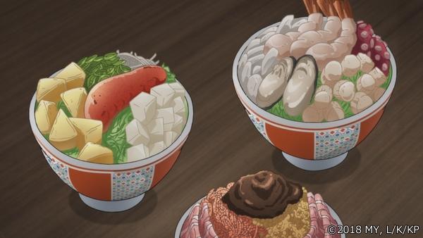 『かくりよの宿飯』第16話より、先行場面カット公開! 葵は久しぶりに一人ぼっちの夕食、その頃「夕がお」では……