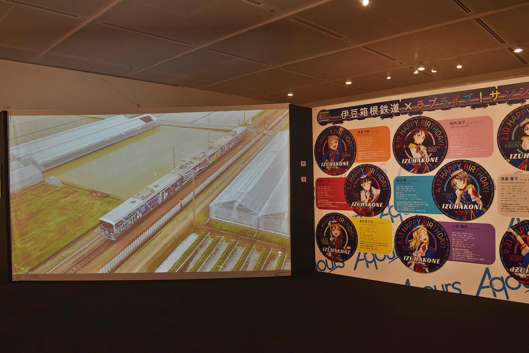 「アニメと鉄道展」を鉄道BIG4が大絶賛! 『ラブライブ!サンシャイン!!』、『この世界の片隅に』、『機動警察パトレイバー』、『ISLAND』などが展示-9