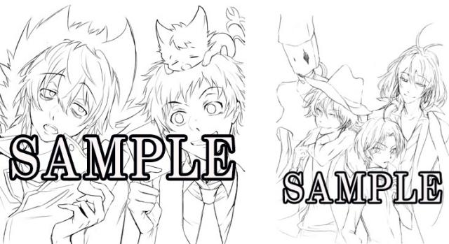 『サーヴァンプ』劇場版BD&DVDアニメイト特典イラストを公開!