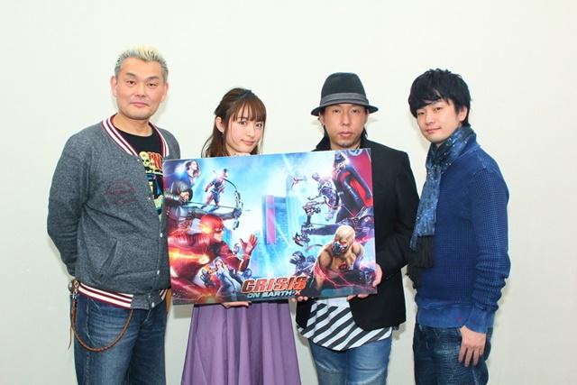 『クライシス・オン・アースX』吹替え声優陣が魅力を語る!