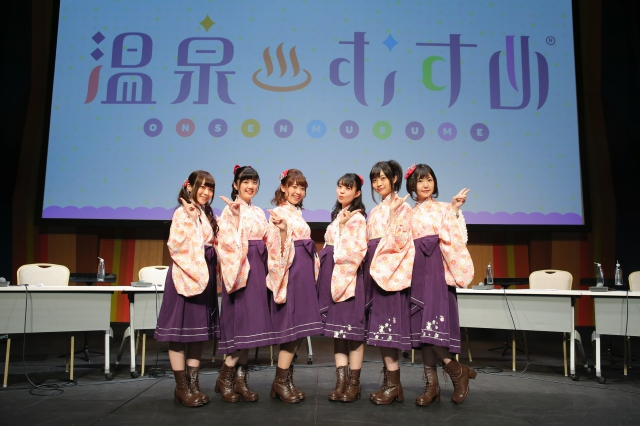 『温泉むすめ』「YUKEMURI FESTA Vol.14@羽田空港」第2部レポート
