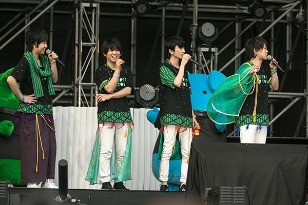 「ツキプロライブ2018」豊永利行さん、江口拓也さんら総勢16人によるリアルライブで、色とりどりの光に包まれた夜公演をレポートの画像-5