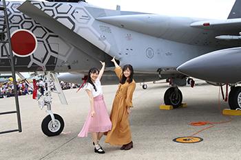 『ガーリー・エアフォース』小松基地航空祭トークイベントレポート