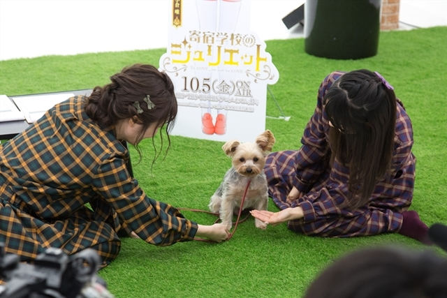 『寄宿学校のジュリエット』日高里菜さん・小倉唯さんのミニ番組が配信スタート! 助っ人のワンちゃんに癒やされる2人に注目の画像-3