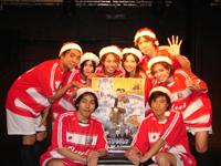 """オエセル隊のクリスマスイベント""""FCオエセル2008""""がキッ.."""